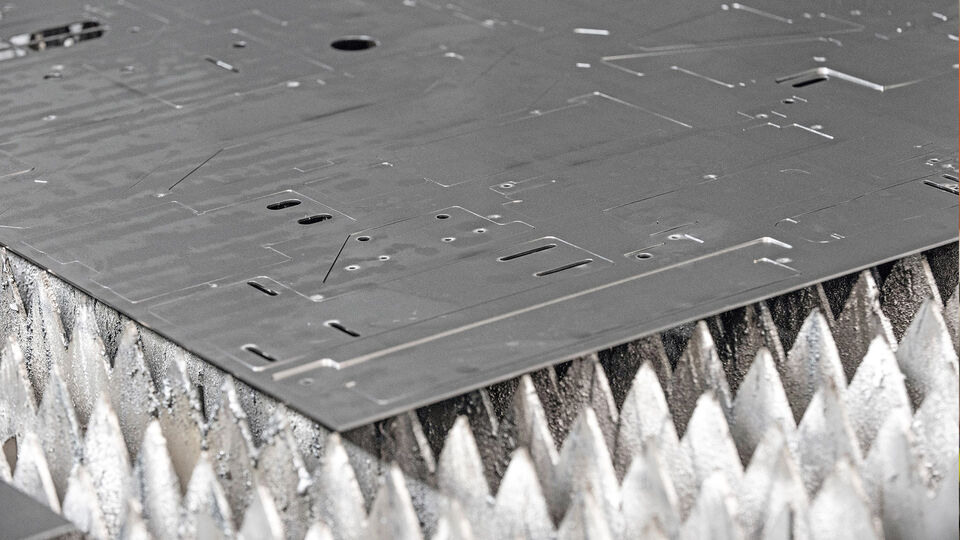 More safety in the laser cutting process