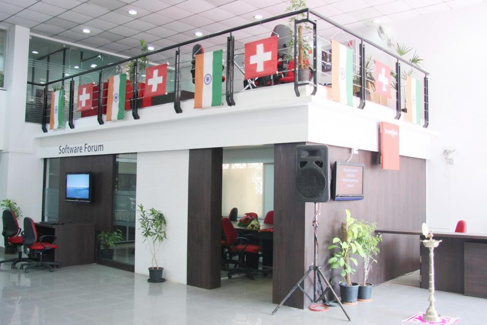 Bystronic India welcome desk